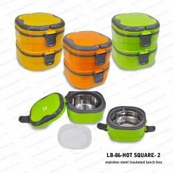 Steel Insulated Lunch Box-LB-86