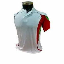 Polyester Grey Half Sleeves Promotional T-Shirt