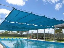 Retractable Structure In Tensile Fabric