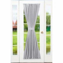 Plain Door Curtain