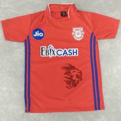 Printed Half Sleeve IPL Cricket T Shirts