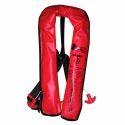 Red Lamda Solas Inflatable Life Jackets