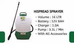 Hispread Sprayer