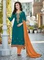 Straight Cut Cotton Fancy Salwar Suits