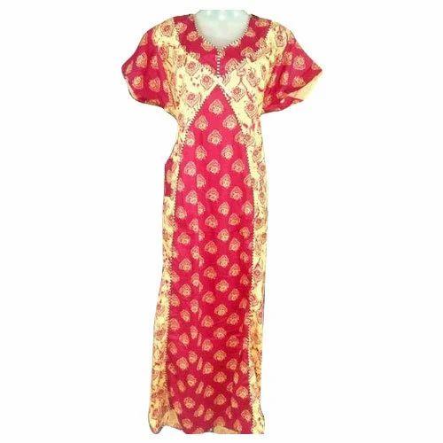 113043df88 Medium And Large Procion Cotton Bajirao Mastani Nighty, Rs 165 ...