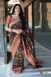 Designer Women''s Silk Weaving Saree