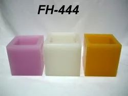Cubical Full Hollow Candle