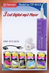 3LED MP3 PLAYER