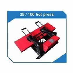 Lan Yard Printing Heat Press Machine 25 X 100 Cm Size