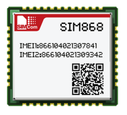 SIM868 Quad Band GSM GPRS Module Combines GNSS technology