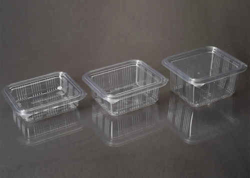 Rectangular PET Hinged Container 250ml - 2000ml
