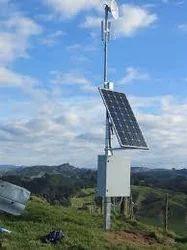 Solar power Wi-Fi Tower