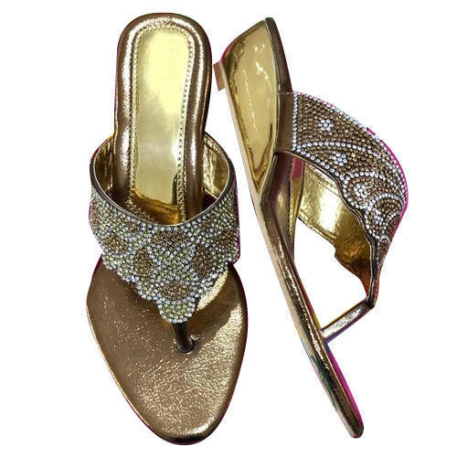 1d411f58b Golden Ladies Fancy Sandal