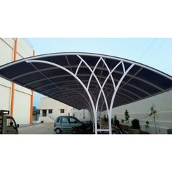 Polycarbonate Industrial Parking Shed