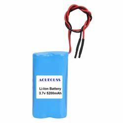5200mAh 3.7V Li Ion Battery