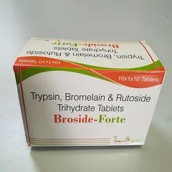 Trypsin Bromelain Rutoside Trihydrate Tablete