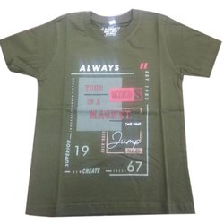 Cotton Casual Wear Essa 20 20 Kid's T Shirt
