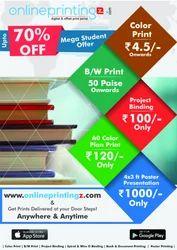 Print on demand (POD)