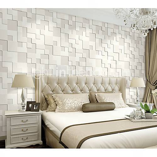 White Vinyl Bedroom 3D Wallpaper, Rs 75 /square Feet, M/s