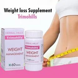 Pink Herbal Weight Management Formulations - Trimohills 60 Tablets, Packaging Size: 16x13x8, Packaging Type: Bottle