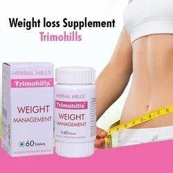 Trimohills- Herbal Weight Management Formulations - 60 Tablets