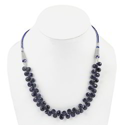 120 Ct Almond Sapphire Stones Necklace 209