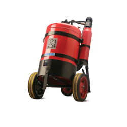 Ceasefire Red ABC Powder Based Trolley Mounted Stored Pressure Series, Capacity: 25kg