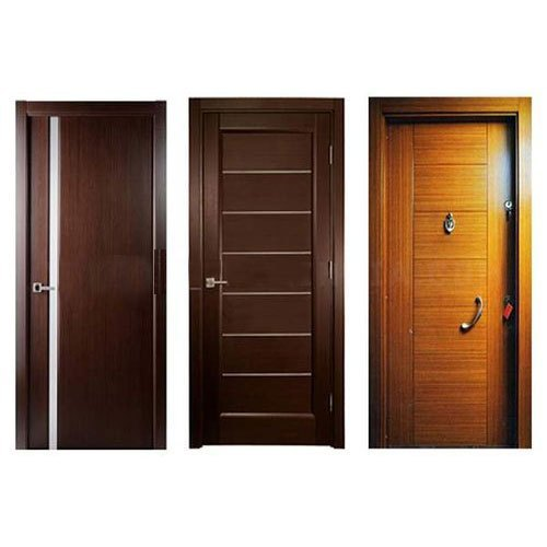 century Brown Wood Flush Door, Size/Dimension: 8x4, for Home