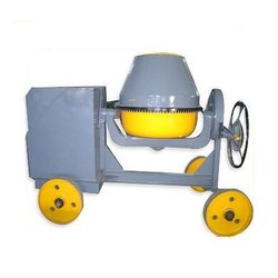 Reverse Drum Mixer Diesel Engine Chips Mixer Machine, for Construction