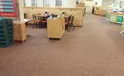Multicolor Pp Carpet Flooring Services, Thickness: 4-5mm, Packaging Type: 6sqmts Per Box