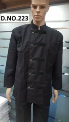Black Chef Uniforms- CSU-25