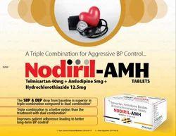 Telmisartan 40 mg Amlodipine 5mg Hydrochlorothiazide 12.5 Tablets