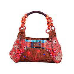 Available In Many Color Ethnic Handicraft Bag