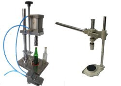 Pneumatic Bottle Crown Corking Machine