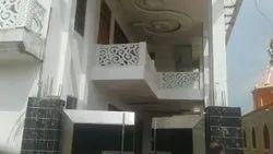 White GRC Balcony Jali