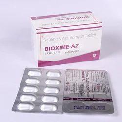 Cefixime 200mg  Azithromycin 250 mg