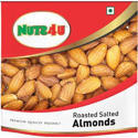 Nuts 4 U Roasted Salted Almonds, Packaging Type: Packets