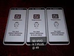 5D Temper Glass V7 Plus