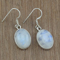 925 Sterling Silver Rainbow Moonstone Gemstone Jewelry Sets
