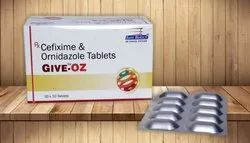 Cefixime 200 mg & Ornidazole 500 mg