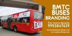 Outdoor Rental BMTC Bus Advertisement, in Bangalore