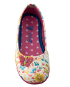 Beanie Bugs White Printed Shoes