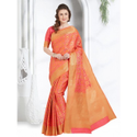 Saree For Ladies In Cotton Silk