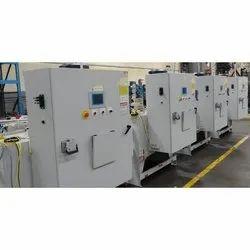 Single Phase Mild Steel PLC Panel, Voltage: 220-440 V