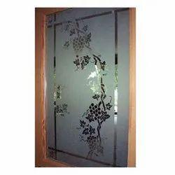 Textured Glass Decorative Acid Texture Glass