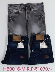Men Denim Hanex Basic Jeans, Waist Size: 28-34
