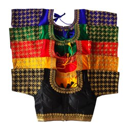 Stitched Silk Fancy Zardosi Embroidered Work Blouse