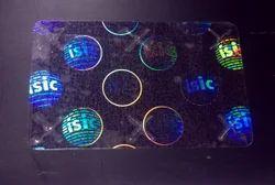 ID Holographic Overlays Custom Graphic