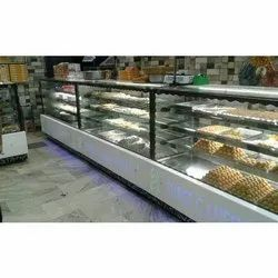 4 Shelves Sweets Display Counter