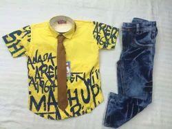 Jeans 3 Pieces Suit